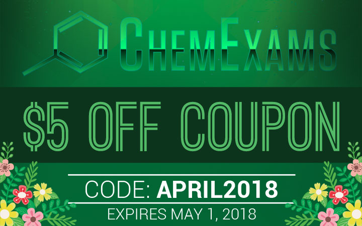 ChemExams Coupon Code