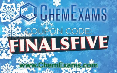 Coupon Code | Chemistry Final | ACS Practice Exam – DEC 2018