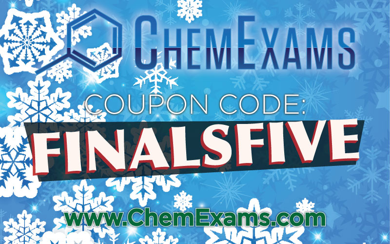 chemexams coupon code finals December 2018
