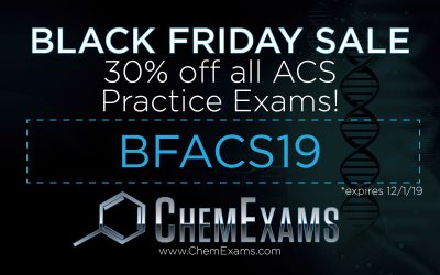 Black Friday Coupon Code – 30% Off ACS Practice Exams