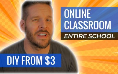 Virtual Classroom: How to Make YOUR OWN Online Learning Classroom(+Video)